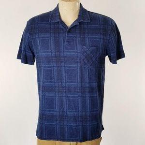 Polo Ralph Lauren Blue Plaid Golf Shirt